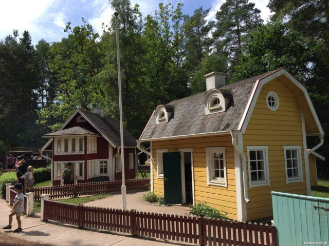 kamper, podróż kamperem, kamperem z dziećmi, podróżowanie z dziećmi, niemowlę w kamperze, Szwecja, Vimmerby, Astrid Lindgren World
