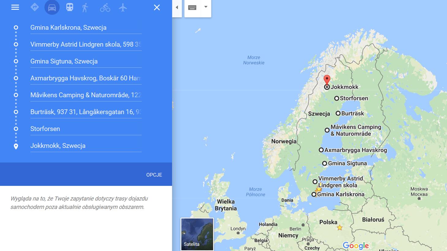 kamperem po Szwecji