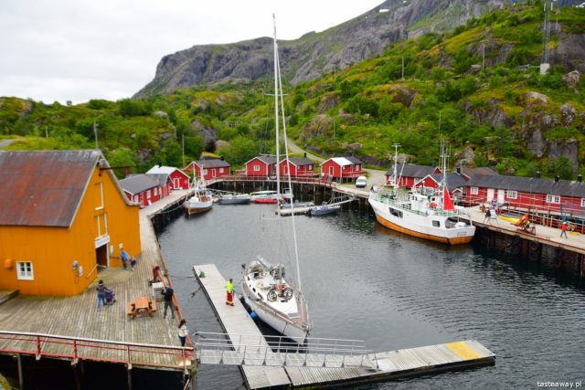 Lofoty, co zobaczyć na Lofotach, najpiękniejsze miasteczka Lofotów, Nusfjord