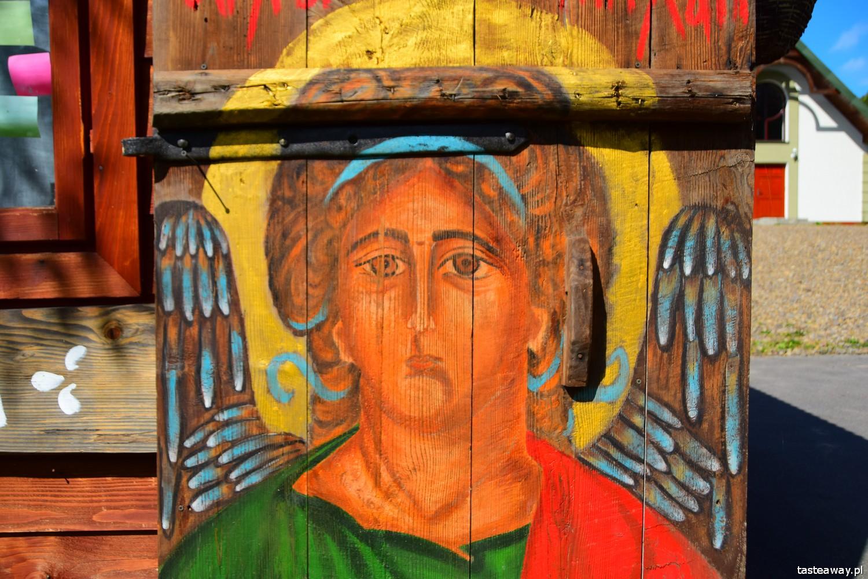 Magiczne Bieszczady, Bieszczady, co zobaczyć w Bieszczadach, gdzie mieszkać w Bieszczadach, magiczne miejsca w Bieszczadach, Wataha, cerkwie w Bieszczadach, szlakiem cerkwi, ikony, pracownia ikon