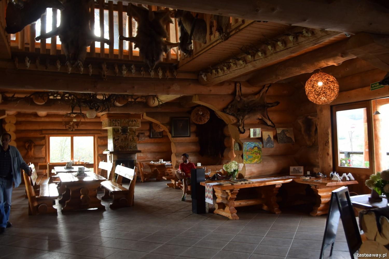 Magiczne Bieszczady, Bieszczady, co zobaczyć w Bieszczadach, gdzie mieszkać w Bieszczadach, magiczne miejsca w Bieszczadach, Wataha,Wilcza Jama, dziczyzna,  gdzie jeść w Bieszczadach