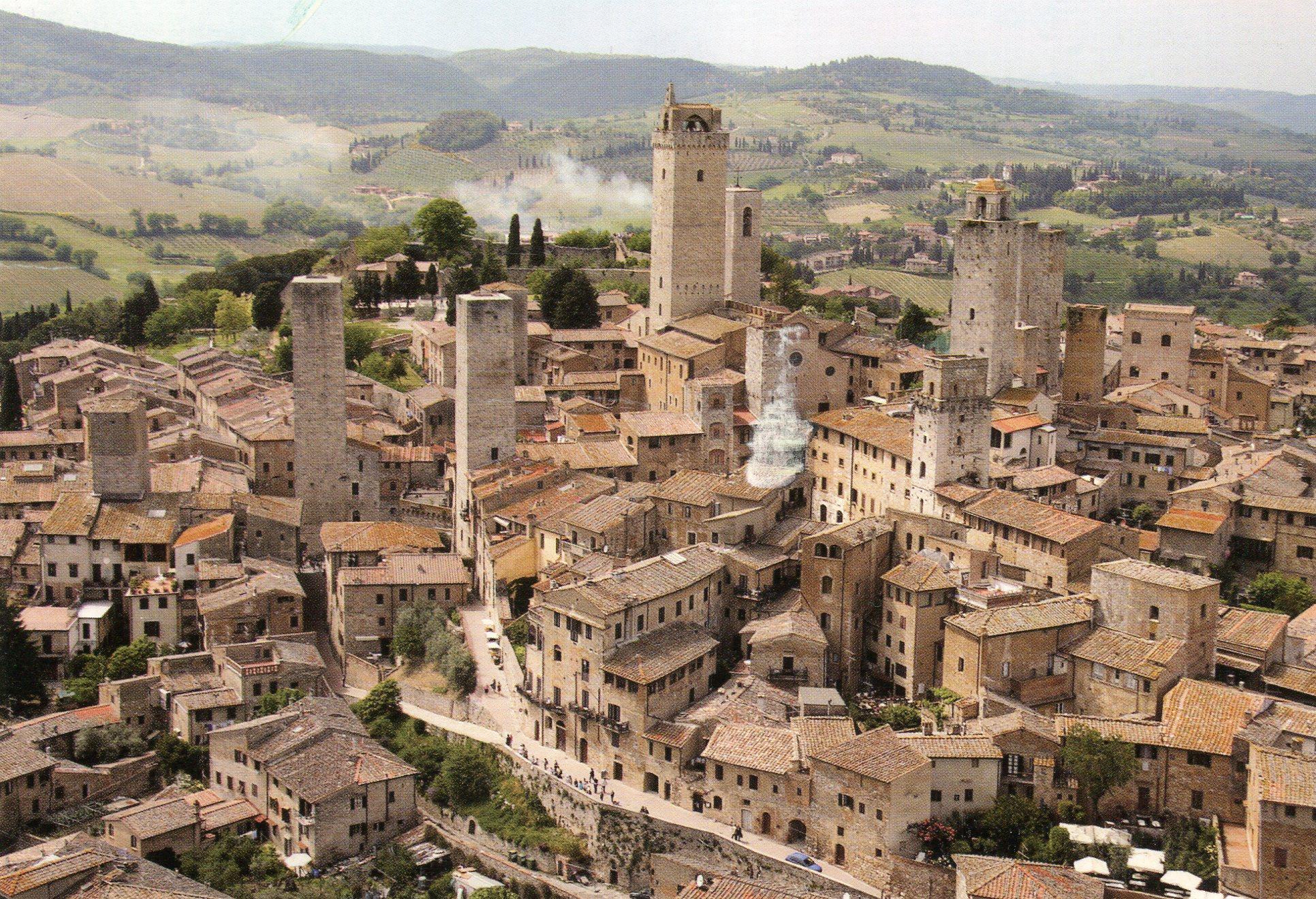 Włochy, co zobaczyć we Włoszech, San Gimignano, Toskania, najpiękniejsze miasteczka we Włoszech