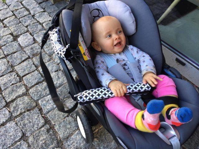 Rollersy, podróżowanie z dzieckiem, fotelik dla dziecka