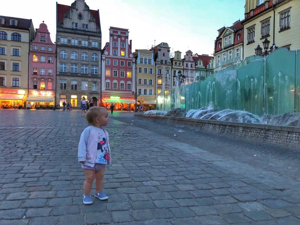 podróże z dziećmi, dziecko w podróży, Wrocław z dzieckiem, co jeść we Wrocławiu