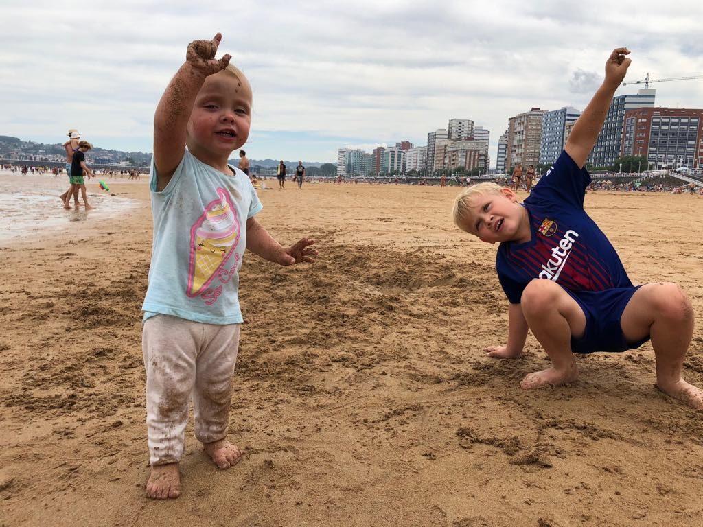 połnoc Hiszpanii, Gijon, podróże z dzieckiem