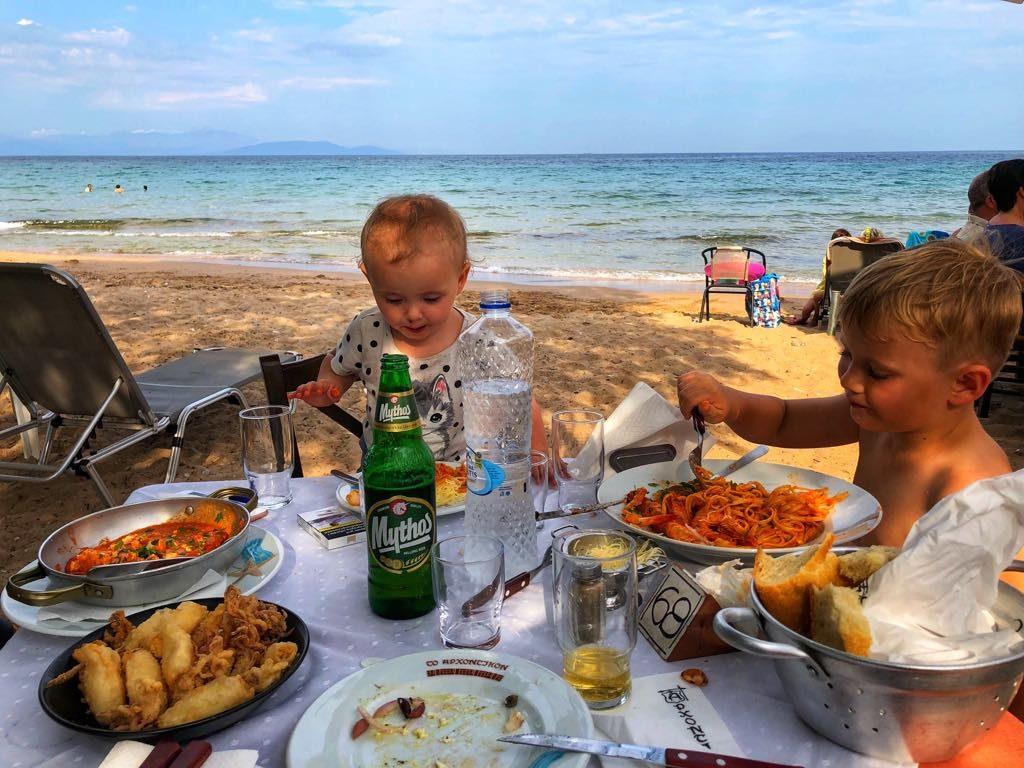 podróże z dziećmi, dziecko w podróży, Grecja z dziećmi