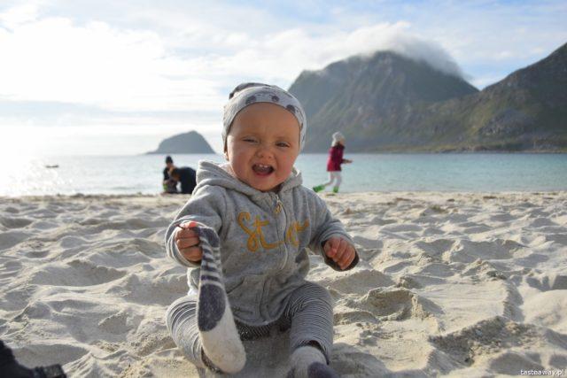 kamperem z dzieckiem, kamperem z niemowlakiem, kamper w Skandynawii