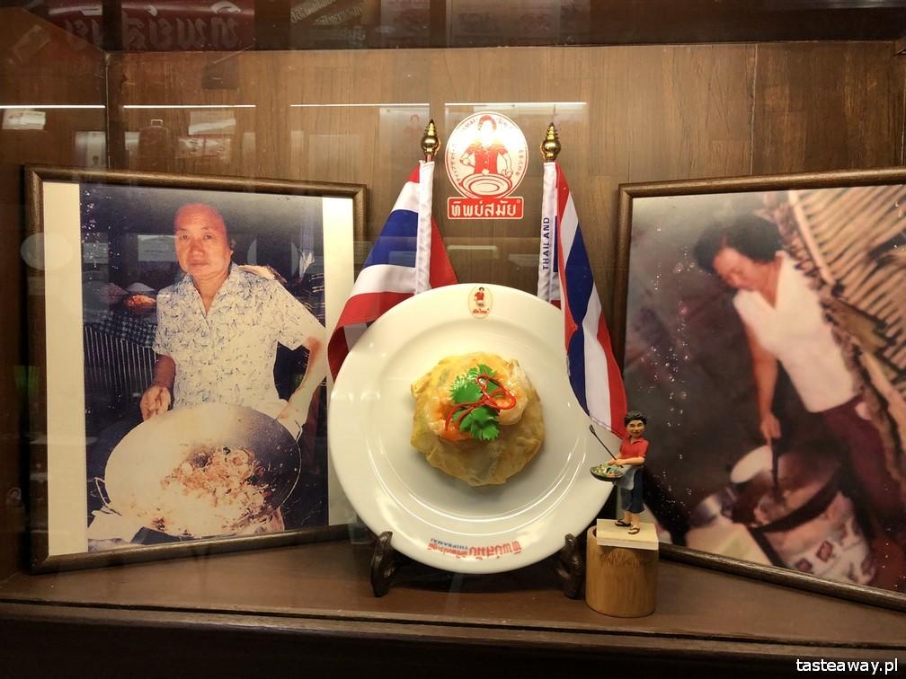 pad thai, gdzie na pad thaia w Bangkoku, najlepszy pad thai w Bangkoku, co zjeść w Bangkoku, co robić w Bangkoku, Thip Samai