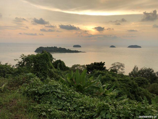 Koh Chang, wyspy w Tajlandii, jaką wyspę wybrać, co robić na Koh Chang, Peninsula Beach resort, Kai Bae Viewpoint