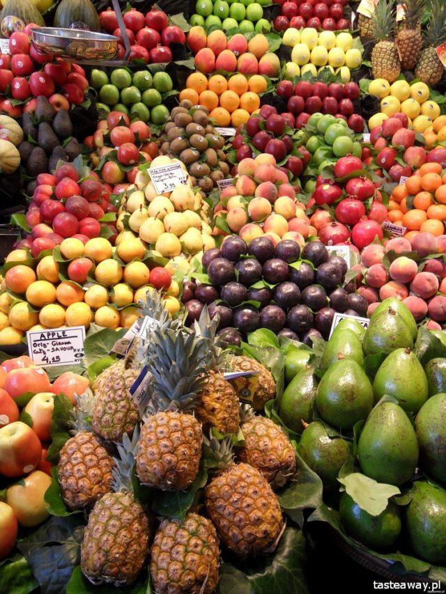 hale targowe, hale targowe na świecie, La Boqueria, Barcelona, najlepsze hale targowe na świecie, targ z jedzeniem