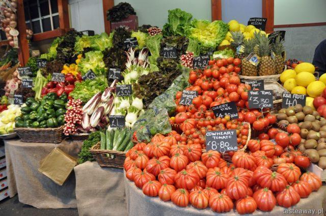 targ z jedzeniem, hale targowe, targi z jedzeniem, Londyn, Borough Market, co zobaczyć w Londynie