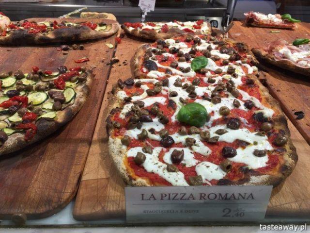 hale targowe, hale z jedzeniem, targ z jedzeniem, Rzym, co zobaczyć w Rzymie, Eataly