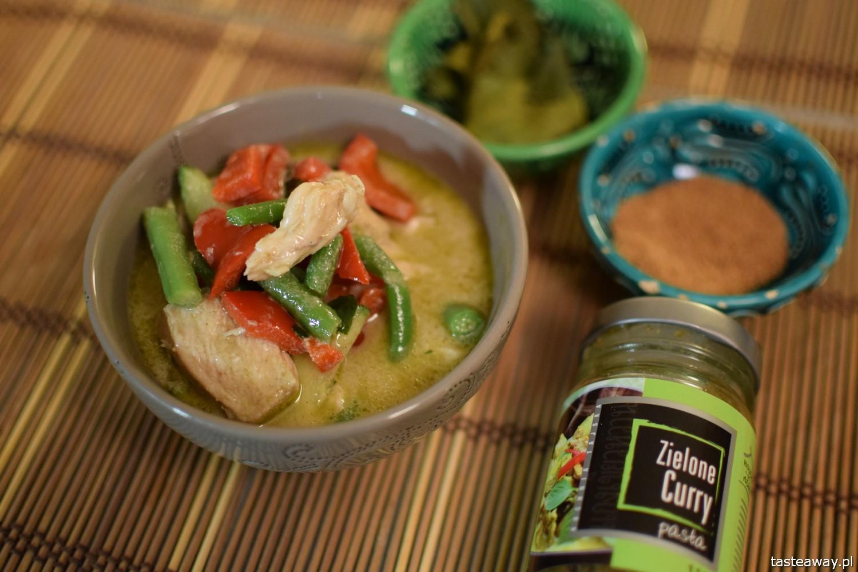 tajskie, kuchnia tajska, zielone curry, jak przyrządzić zielone curry w domu, zielone curry z kurczakiem, tajskie curry, House of Asia