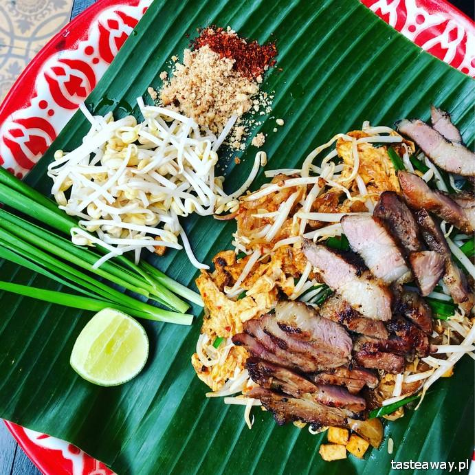 pad thai, tajskie, kuchnia tajska, jak zrobi,ć pad thaia, pad thai w Bangkoku