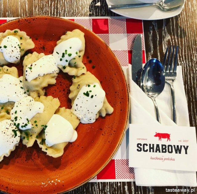 Schabowy, kuchnia polska, polskie wędliny, gdzie na schabowego, pierogi, Warszawa, babka ziemniaczana, kiełbasa