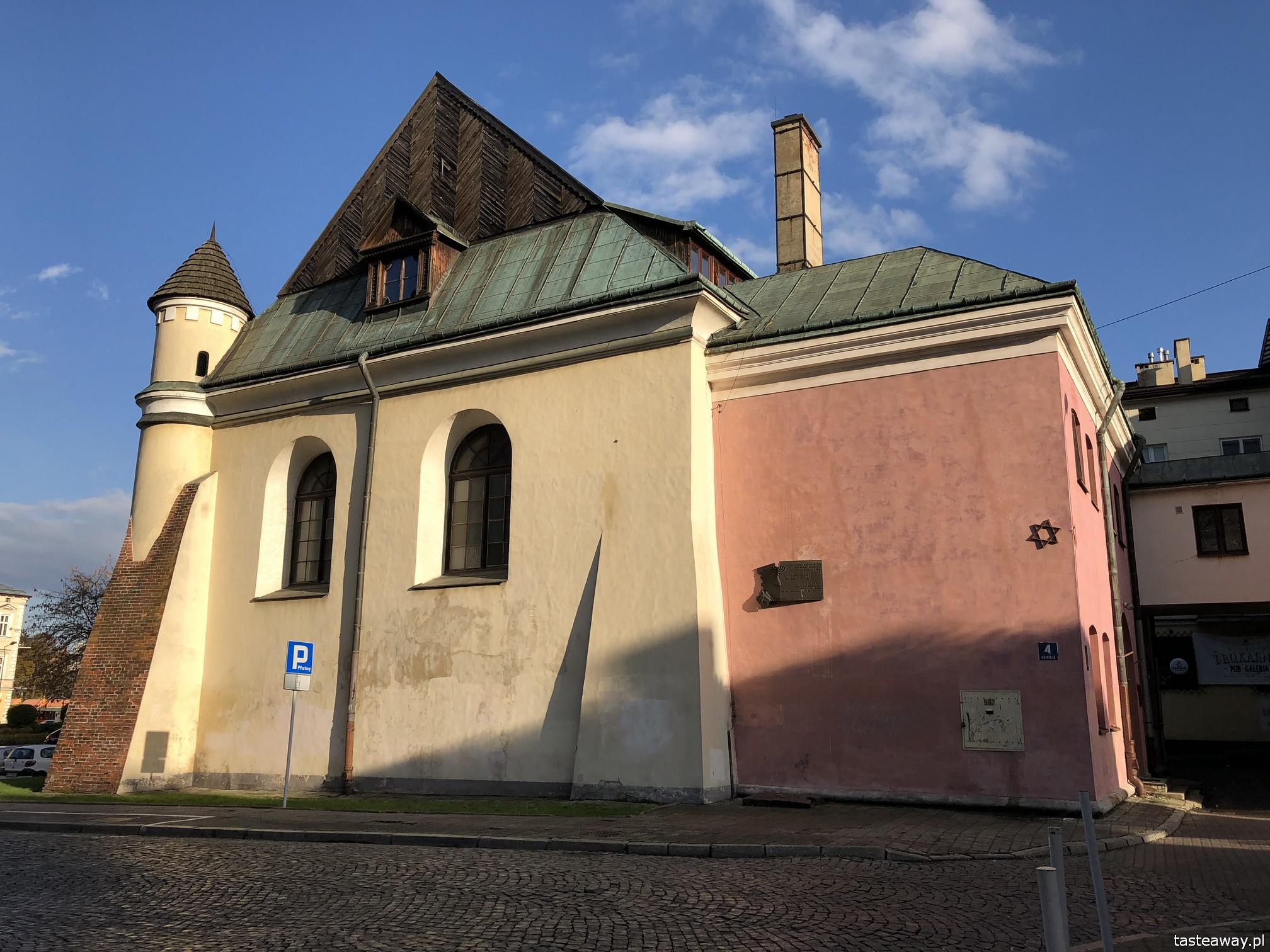 Rzeszów, co zobaczyć w Rzeszowie, Podkarpackie, rynek w Rzeszowie, podróżowanie z dziećmi, Synagoga Staromiejska