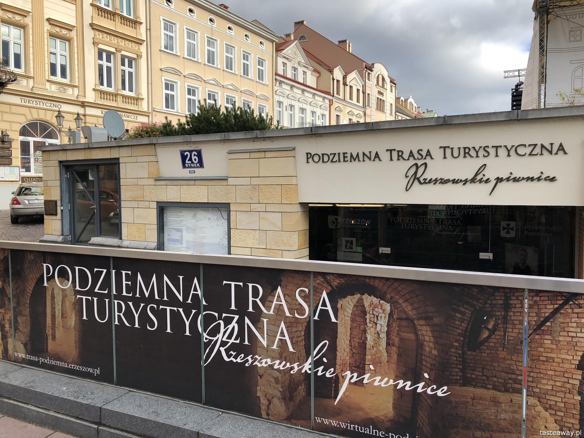 Rzeszów, co zobaczyć w Rzeszowie, Podkarpackie, rynek w Rzeszowie, podróżowanie z dziećmi, Podziemna Trasa Turystyczna
