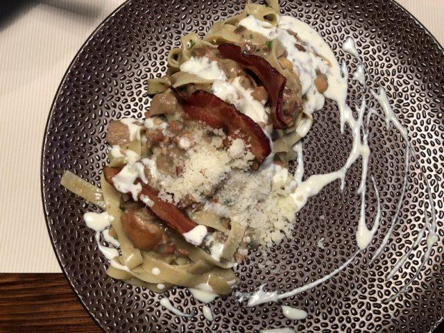 Rzeszow, gdzie jeść w Rzeszowie, Osteria Bellanuna, fettucine al tartufo