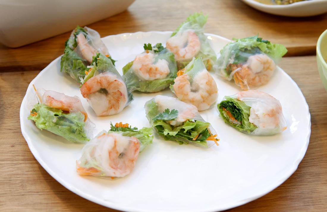 kuchnia tajska, jak zrobić tajskie w domu, świeże sajgonki, nemy, jak zrobić nemy