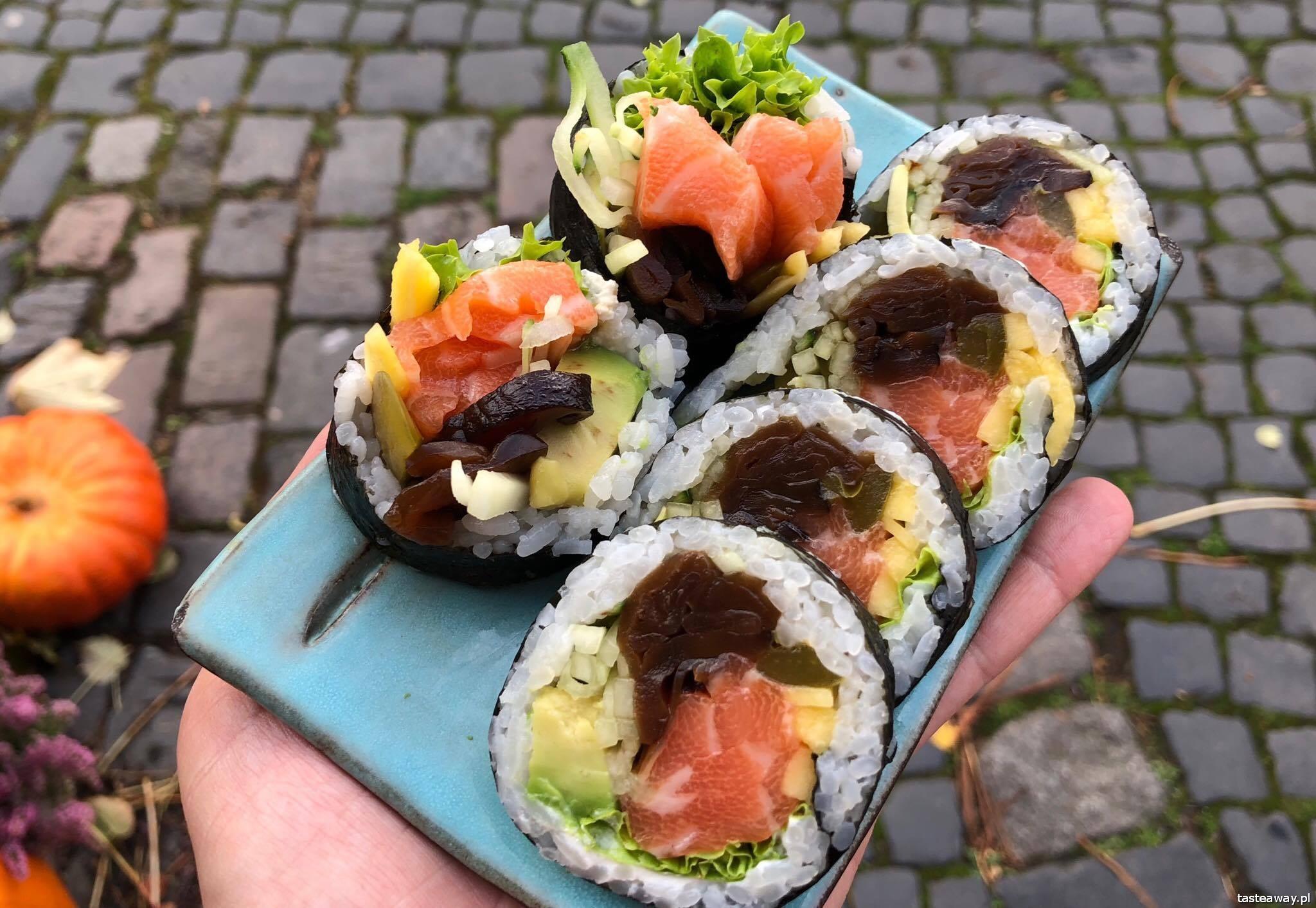 sushi, gdzie na sushi w Warszawie, najlepsze sushi w Warszawie, Sakana, Sakana Burakowska, Mariusz Melcer