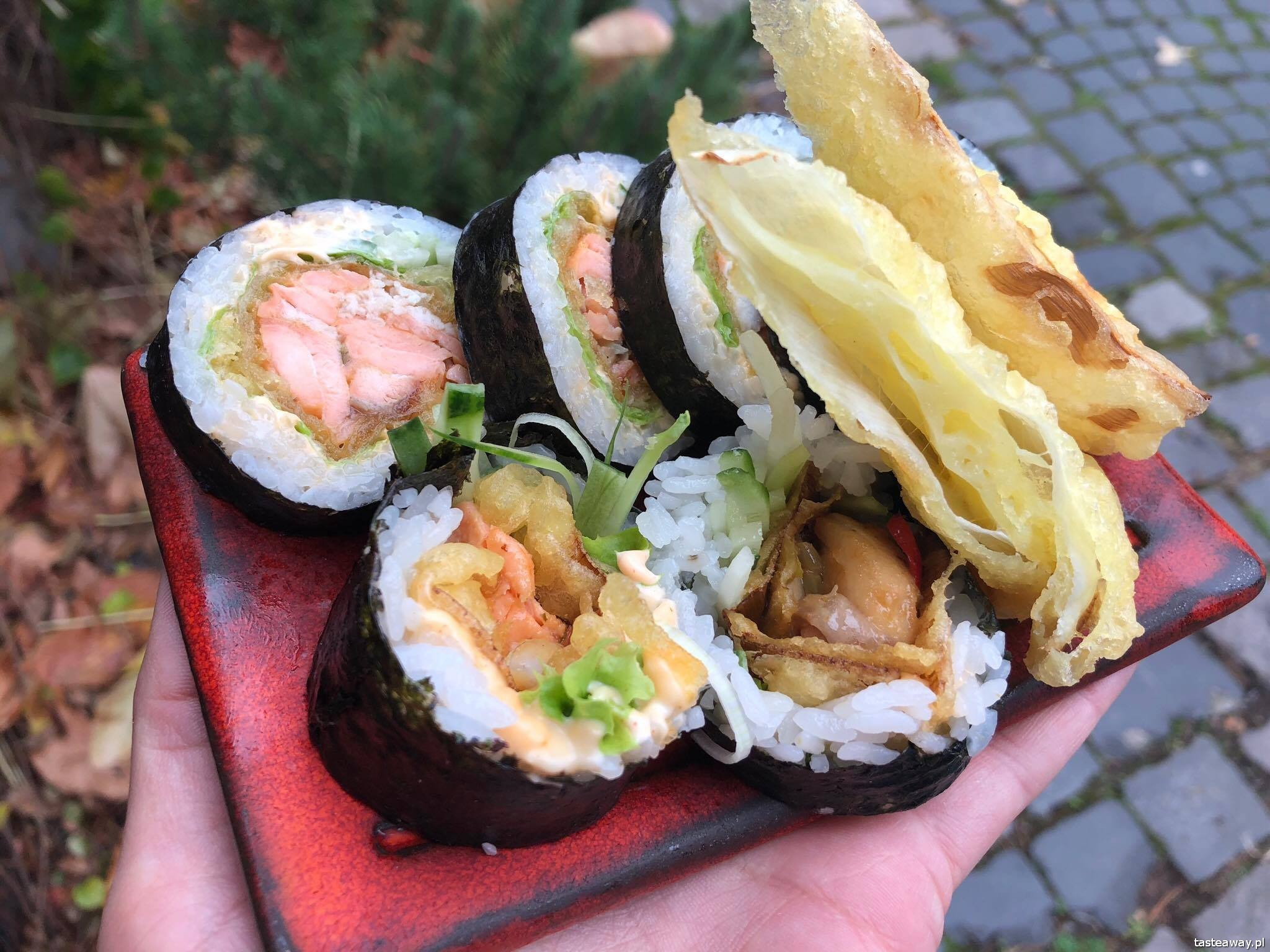 Sakana Burakowska, sushi, sushi Warszawa, najlepsze sushi w Warszawie, gdzie na sushi, Mariusz Melcer