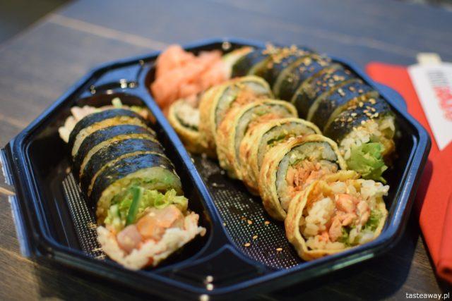 sushi na wynos, Oto Sushi, gdzie zamawiać sushi na wynos, PizzaPortal.pl, dobre sushi na wynos, maki