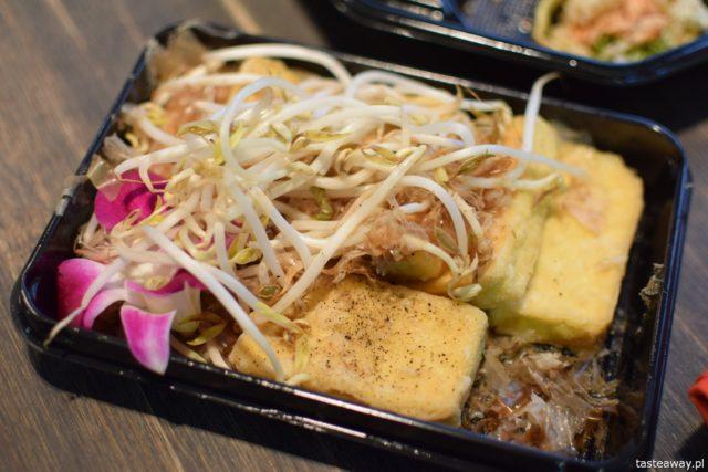 sushi, sushi na wynos, japońskie, tofu, tofu z bonito,