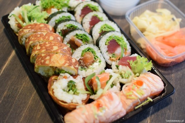 sushi, sushi na wynos, gdzie zamówić sushi na wynos, Besuto Sushi, Pizza portal