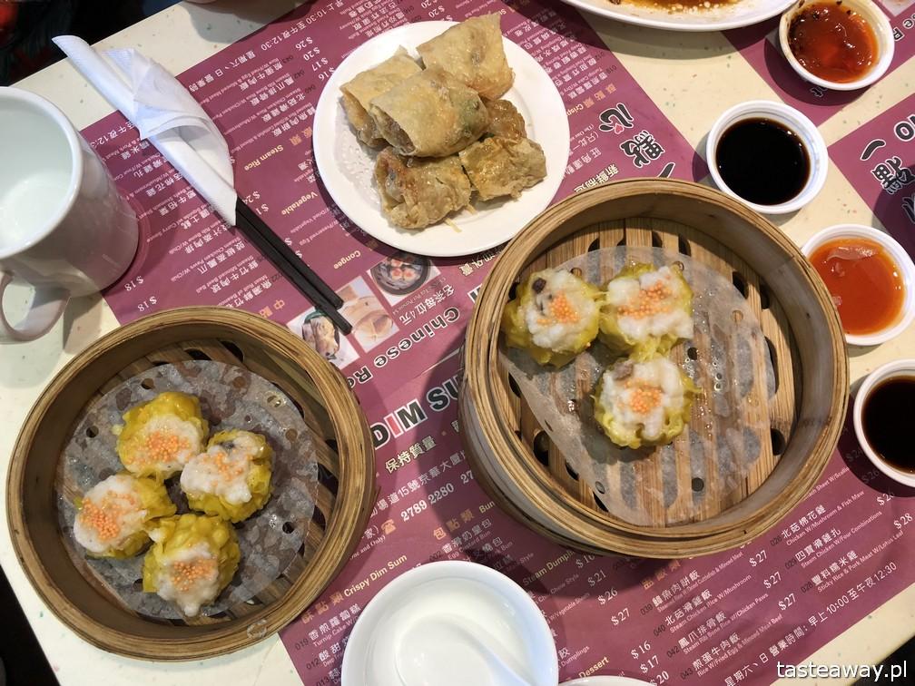 Hong Kong, co jeść w Hong Kongu, co zobaczyć w Hing Kongu, dim sum. One Dim Sum, gdzie na dim sumy, siu mai