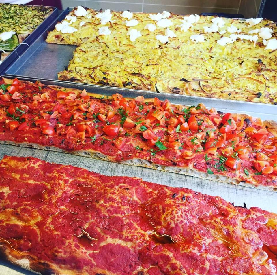 podróże z dzieckiem, Rzym, Tasteaway, podsumowanie roku, podróże z niemowlakiem, pizza al taglio, pizza w Rzymie