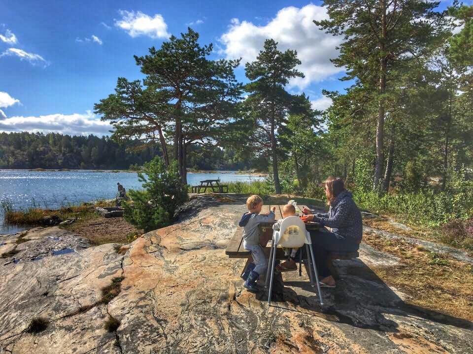 podróże z dziećmi, podróż kamperem, Szwecja kamperem