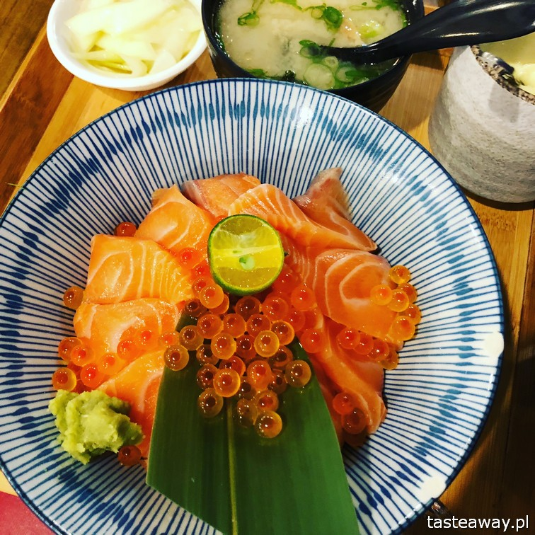 Tajwan, co robić na Tajwanie, dlaczego jechać na Tajwanie, jedzenie na Tajwanie, sushi, donburi
