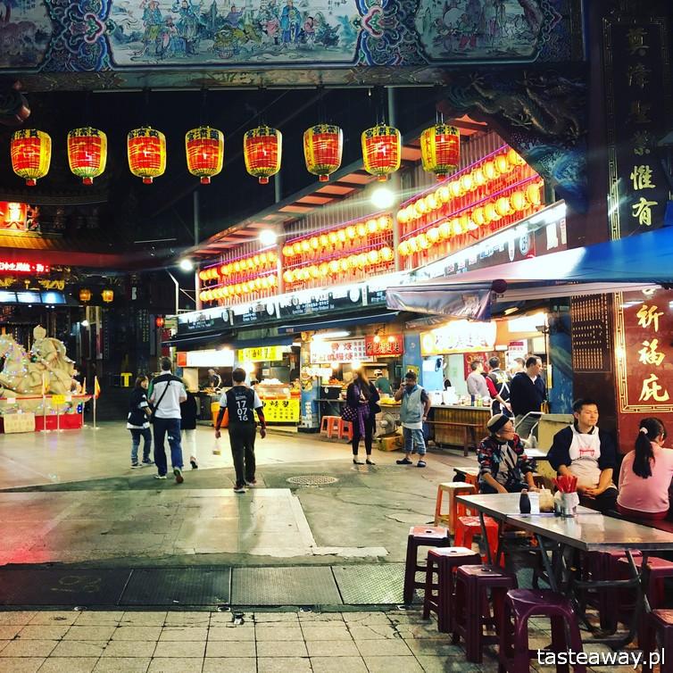 Tajwan, co zobaczyć na Tajwanie, atrakcje Tajwanu, Keelung, night market, nocny targ,, podróż na Tajwan, pierożki, chińskie pierożki, Hualien, Keelung
