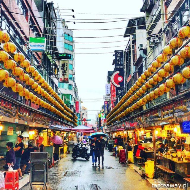 Tajwan, co zobaczyć na Tajwanie, atrakcje Tajwanu, Keelung, night market, nocny targ,, podróż na Tajwan