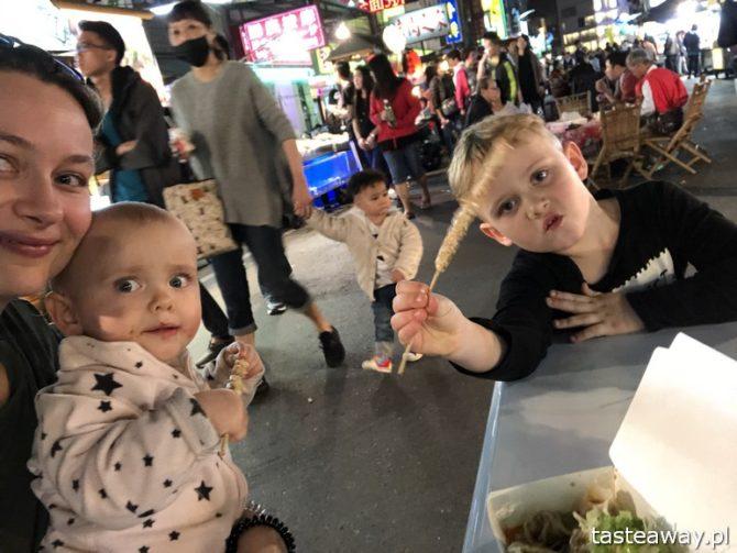 Tajwan, kuchnia Tajwanu, co jeść na Tajwanie, street food, nocny targ, Keelung
