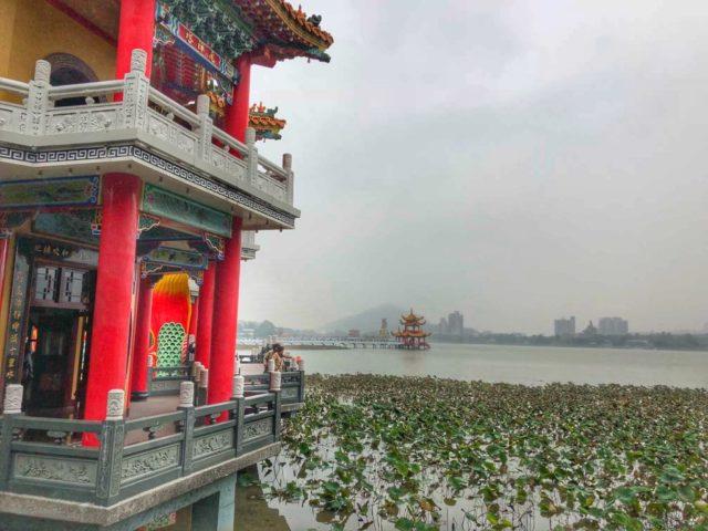 Tajwan, co zobaczyć na Tajwanie, Kaoshiung, Lotus Pond