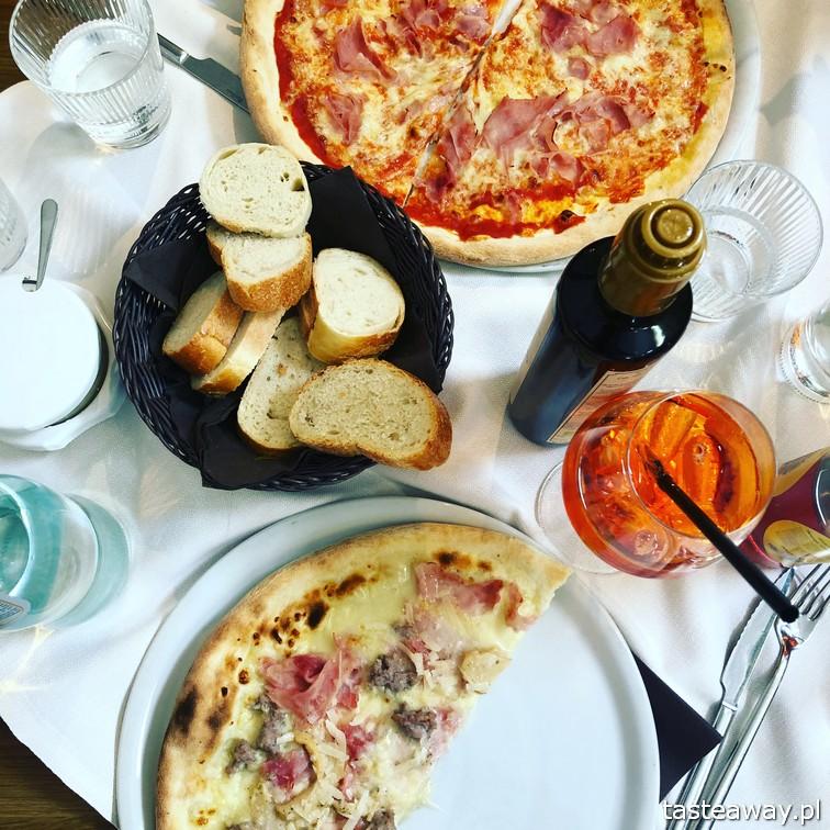 San Candido, Theater Cafe Zentral, Południowy Tyrol, najlepsze restauracje Południowego Tyrolu, gdzie jeść w San Candido, gdzie jeść w Południowym Tyrolu, pizza, Aperol Spritz