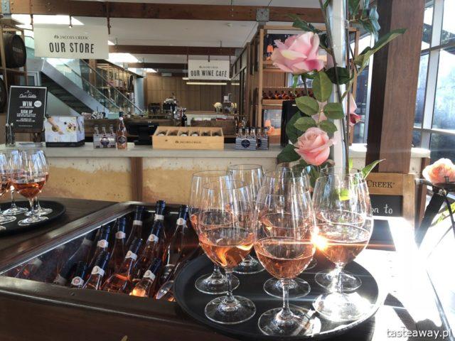 Australia, co zobaczyć w Australii, australijskie wino, Barossa Valley, wina Jacob's Creek, wino, różowe wino