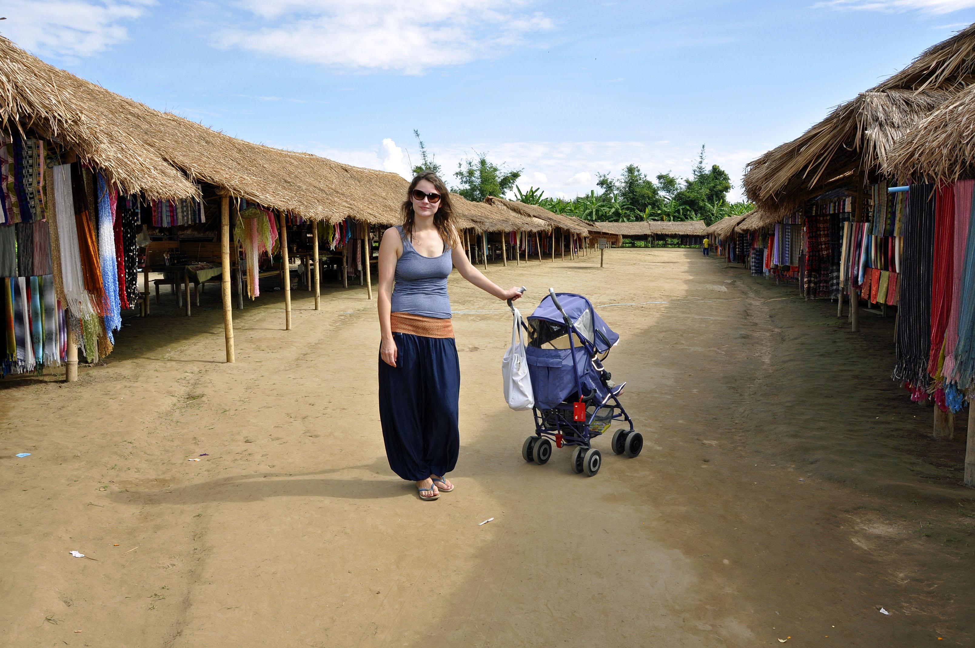 na północy Tajlandii 2012