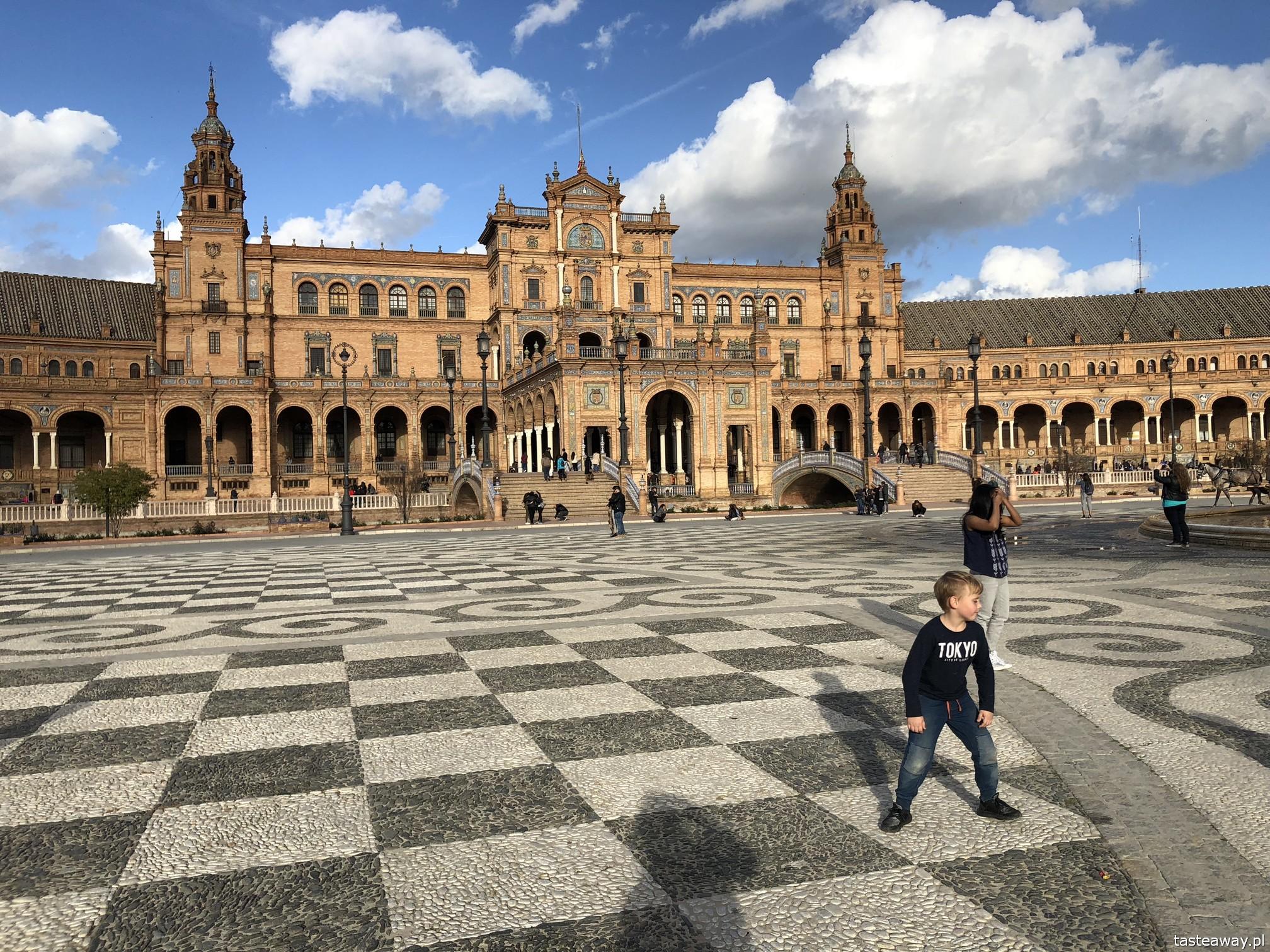 Sewilla, Sevilla, co zobaczyć w Sewilli, Sevilla w jeden dzień, Andaluzja, miasta Hiszpanii, spacer po Sevilli, Plac Hiszpański, Plaza de Espana