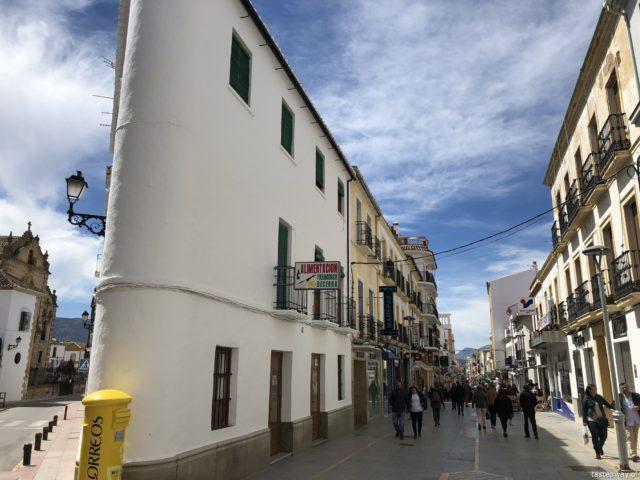 Andaluzja, Ronda, Hiszpania, co zobaczyć w Andaluzji, najpiękniejsze miejsca w Andaluzji, Carrera Espinel