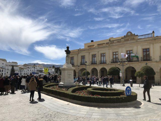 Andaluzja, Ronda, Hiszpania, co zobaczyć w Andaluzji, najpiękniejsze miejsca w Andaluzji, Plaza de Espana