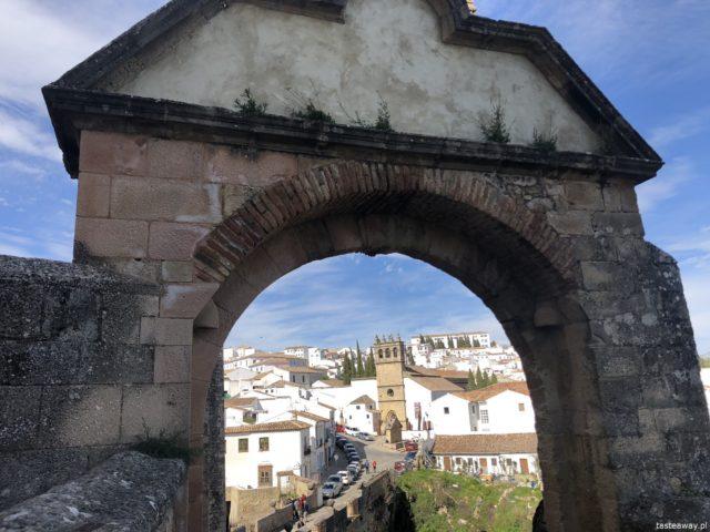 Andaluzja, Ronda, Hiszpania, co zobaczyć w Andaluzji, najpiękniejsze miejsca w Andaluzji, Carrera Espinel, co zobaczyć w Rondzie, Casa del Rey Moro, Arco de Felipe V