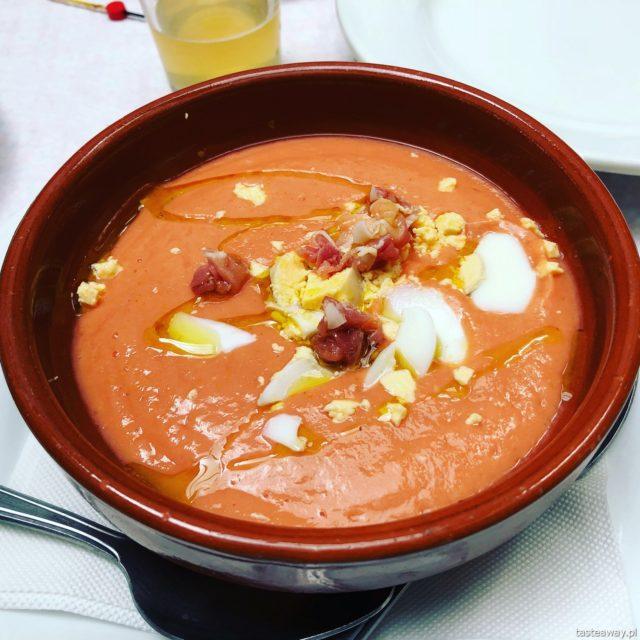 Hiszpania, Andaluzja, co jeść w Hiszpanii, co jeść w Andaluzji, hiszpańśkie tapas, zupa, gazpacho, salmorejo