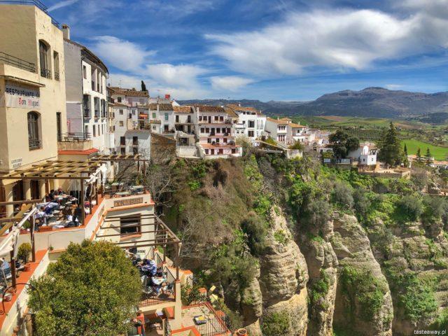 Andaluzja, Ronda, Hiszpania, co zobaczyć w Andaluzji, najpiękniejsze miejsca w Andaluzji, Carrera Espinel, co zobaczyć w Rondzie, casas colgadas