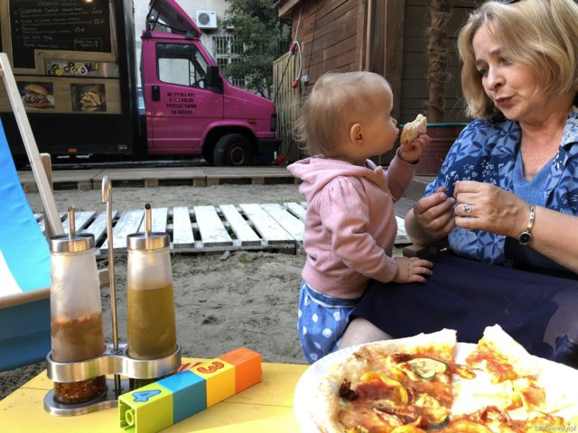 pizza, Pizza di Strada, gdzie na pizzę w Warszawie, Warszawa, food trucki, Ogród Saski, gdzie jeść w centrum