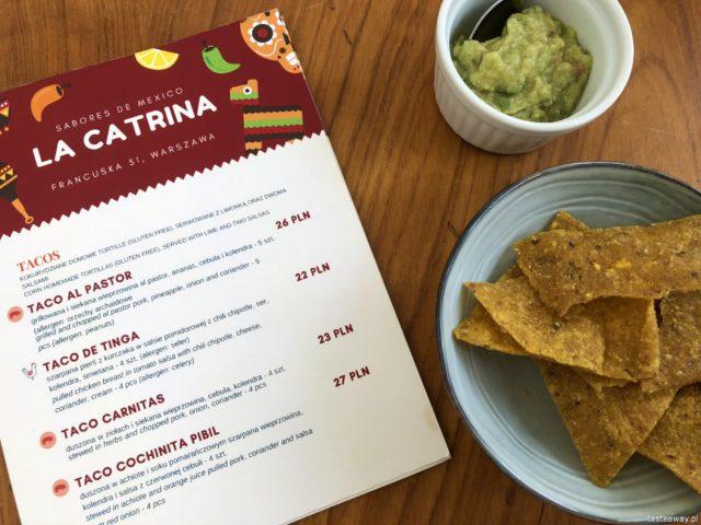 La Catrina, kuchnia meksykańska, gdzie na meksykańskie, tacos, quesadilla, Saska Kępa
