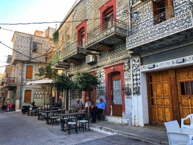 Pyrgi, co zobaczyć na Chios, Chios, Grecja, mastic villages, najpiękniejsze miasteczka w Grecji