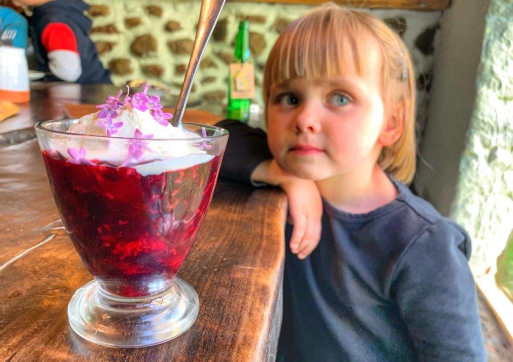 kisiel menu dziecięce