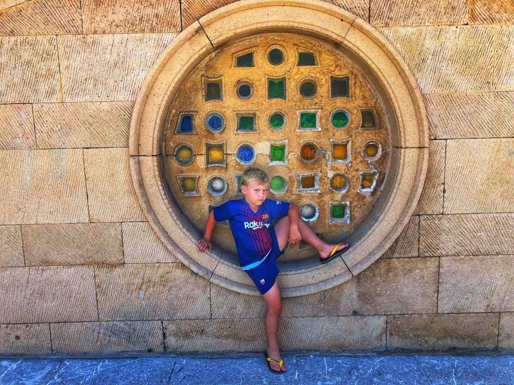 młody gniewny w Gijon_Hiszpania